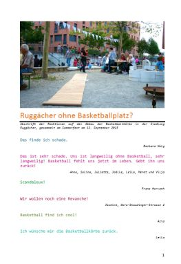 Ruggaecher ohne Basketballplatz